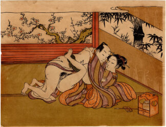PAIR OF LOVERS (Isoda Koryusai)