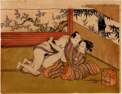 PAIR OF LOVERS (Isoda Koryusai)