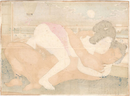 WOMAN AND SUMO WRESTLER (Terasaki Kogyo)