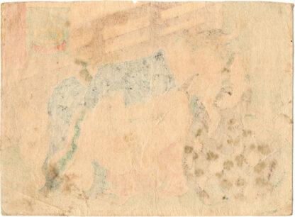 THE HOUR OF THE GOAT (Utagawa School)