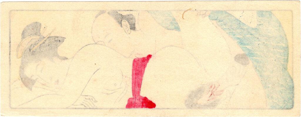 SCROLL FOR THE SLEEVE 02 (Torii Kiyonaga)