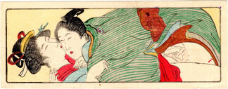SCROLL FOR THE SLEEVE 04 (Torii Kiyonaga)