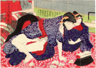 VIEWS OF THE FOUR SEASONS: JULY (Utagawa School)