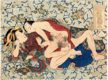 ILLUSTRATIONS OF NEW DRAPERY PATTERNS (Utagawa School)