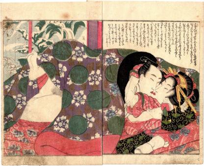 HAIR IN DISARRAY: A WARM WINTER KISS (Keisai Eisen)