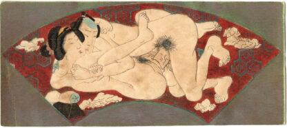 FAN SHAPED INTIMACY 04 (Utagawa School)