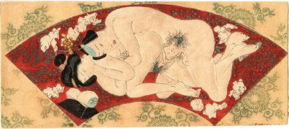 FAN SHAPED INTIMACY 05 (Utagawa School)