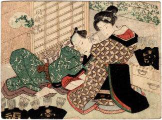 ELEGANT CONTEST OF FLOWERS: JULY (Utagawa School)