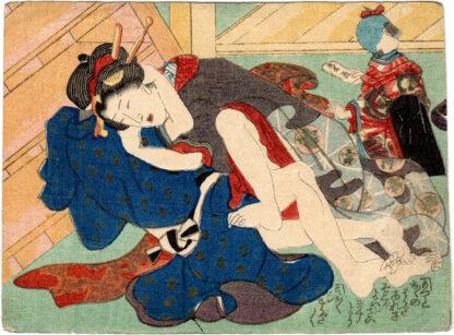IT SEEMS TO BE DEEPER (Utagawa Kunisada)