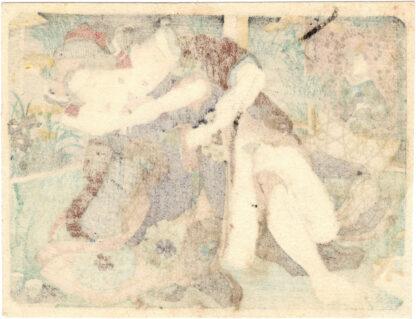MAIDENFLOWERS AND BELLFLOWERS (Utagawa School)