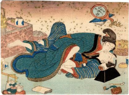 IT SEEMS TO BE DECIDED SOON (Utagawa Kunisada)