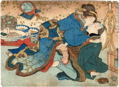 IT LOOKS INTERESTING IF WRAPPED (Utagawa Kunisada)