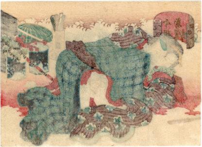 FIGURES CELEBRATING THE LATEST FASHION 01 (Utagawa School)
