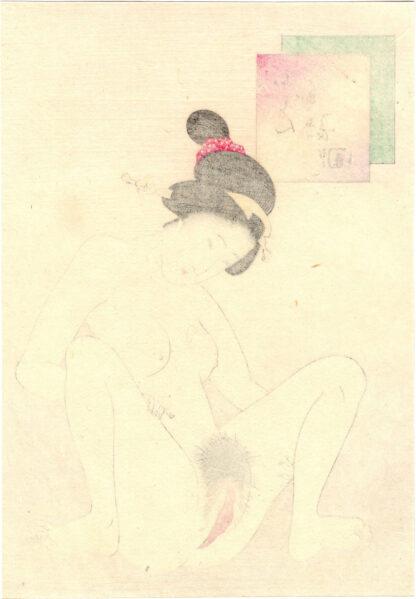 VAGINA WITH LONG HAIR (Takeuchi Keishu)