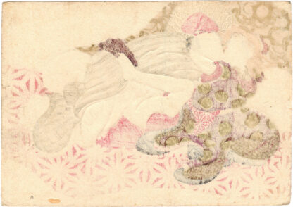 COURTESAN AND CLIENT (Keisai Eisen)
