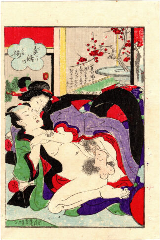 PLUM BLOSSOMS ARRANGED PERSONALLY (Ryusuitei Tanekiyo)