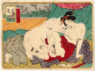 THE TWELVE MONTHS: JULY (Utagawa School)