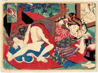 THE TWELVE MONTHS: DECEMBER (Utagawa School)